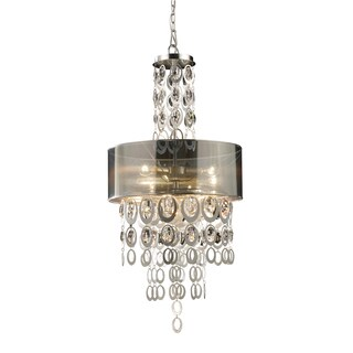 Elk Lighting Parisienne 3-light Silver Leaf Pendant