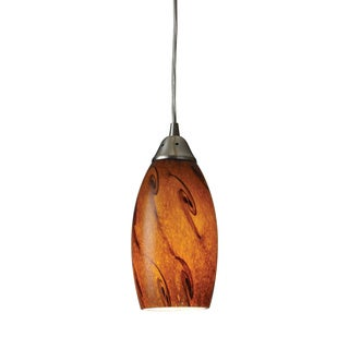 Elk Lighting Galaxy 1-light Satin Nickel Pendant