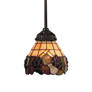 Elk lighting Mix-N-Match 1-Light Tiffany Bronze Pendant