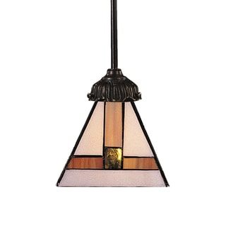 Elk Lighting Mix-N-Match 1-Light Pendant In Tiffany-style Bronze