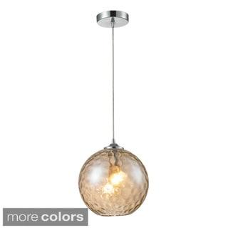 Elk Lighting Watersphere 1-light Polished Chrome Pendant