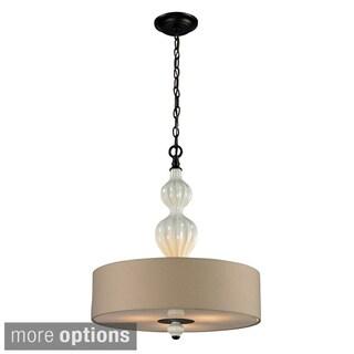 Elk Lighting Home Lilliana 3-Light Aged Bronze Pendant