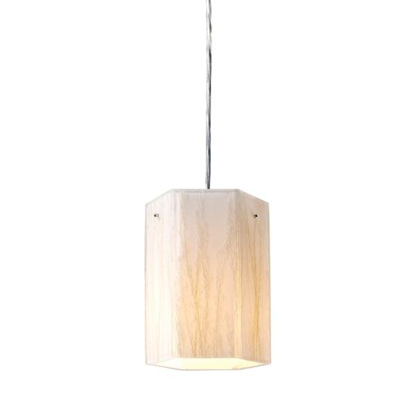 Elk Lighting Modern Organics 1-Light Polished Chrome Pendant