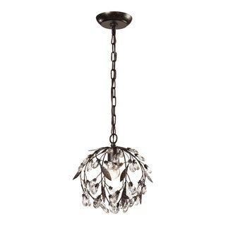 Elk Lighting Circeo 1-light Deep Rust Mini Pendant