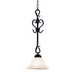 Elk Lighting Buckingham 1-light Matte Black Pendant
