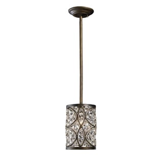 Elk Lighting Amherst Single-light Antique Bronze Pendant