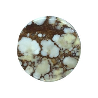 Round-cut 19.5 mm 15ct TGW Wild Horse Loose Stone