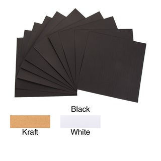 "Core'dinations 80lb Smooth Cardstock 12""X12"" 10/Pkg"