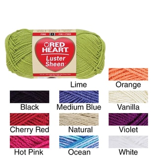 Red Heart Luster Sheen Yarn