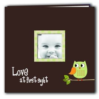 Pioneer Postbound Green Baby Owl Memory Book (12x12)|https://ak1.ostkcdn.com/images/products/9481006/P16662660.jpg?impolicy=medium