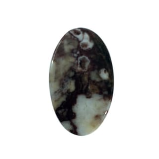 Oval-cut 15x25 mm 15.85ct TGW Wild Horse Stone