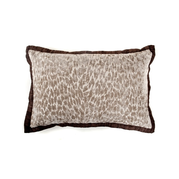 "Handmade Epona Slate Decorative Pillow - 16"" x 24"""