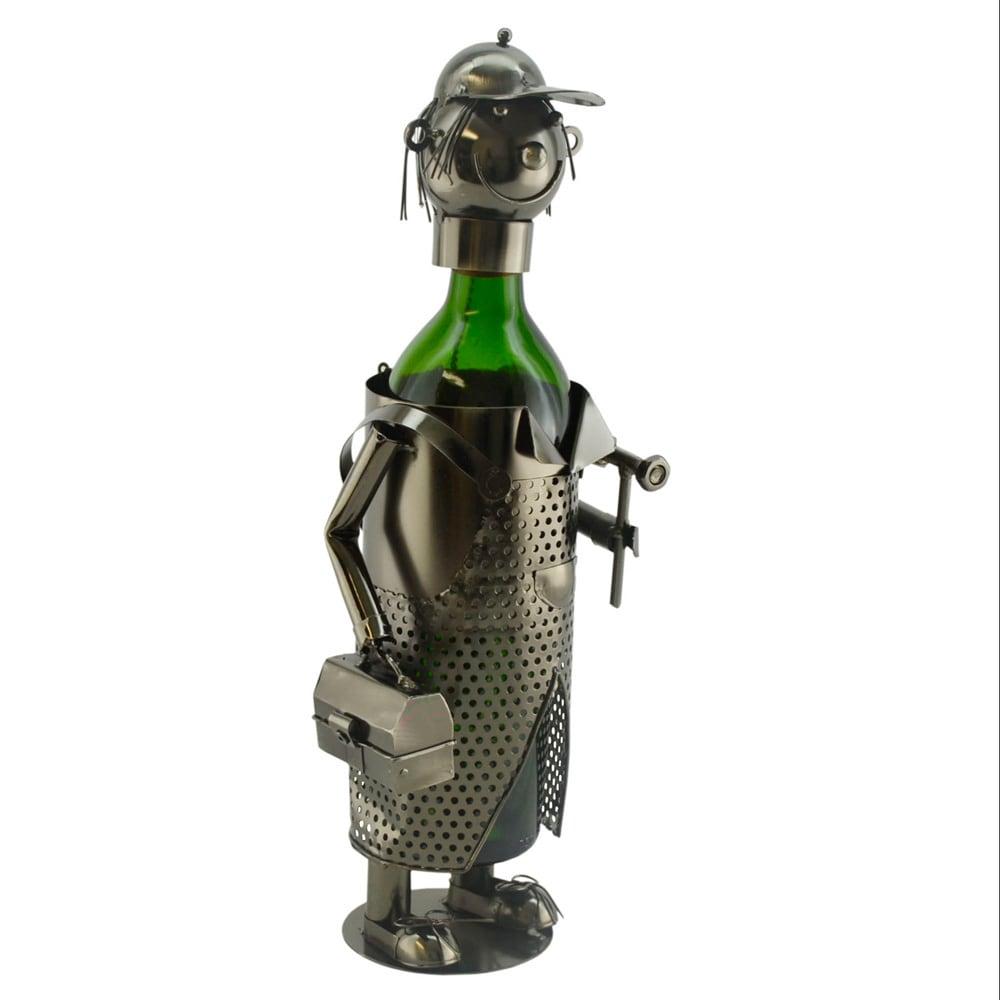 Three Star WineBodies Handy Man Metal Wine Bottle Holder ...
