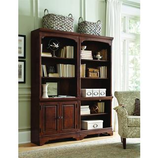 Ethan 2-piece Bookcase Wall Set