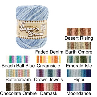 Sugar'n Cream Yarn Ombres Super Size