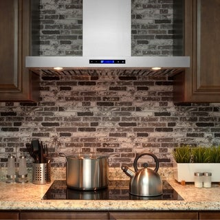 Golden Vantage RH0097 36-inch Stainless Steel Wall Mount Range Hood