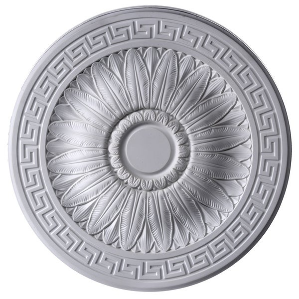 Gaudi decor 20 inch round ceiling medallion free for Overstock free returns