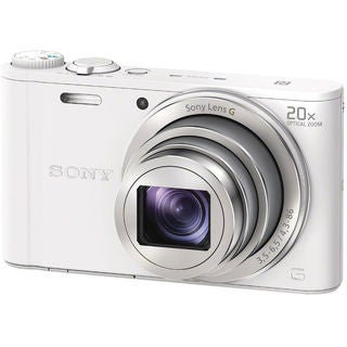 Sony DSC-WX350 18MP White Digital Camera