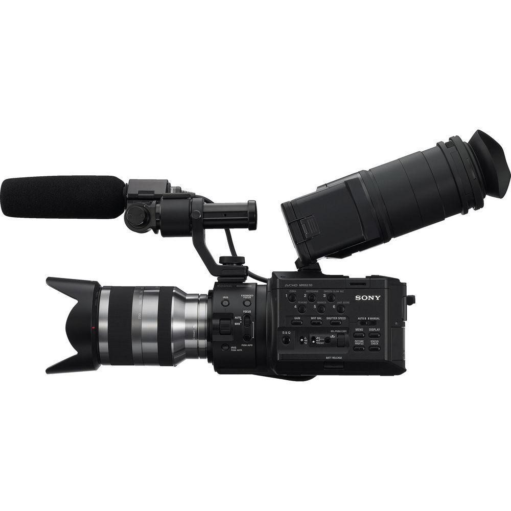 Sony NEX-FS100UK Super 35 Camcorder with 18-200mm Lens (S...