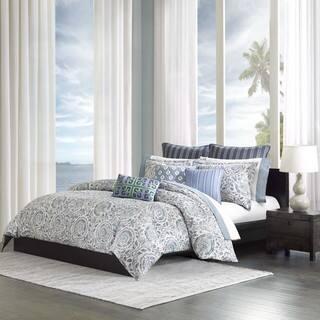 Echo Design Kamala Blue Cotton Duvet Cover Mini Set https://ak1.ostkcdn.com/images/products/9481153/P16662798.jpg?impolicy=medium
