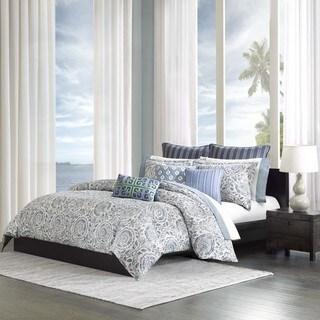 Echo Design Kamala Blue Cotton Duvet Cover Mini Set