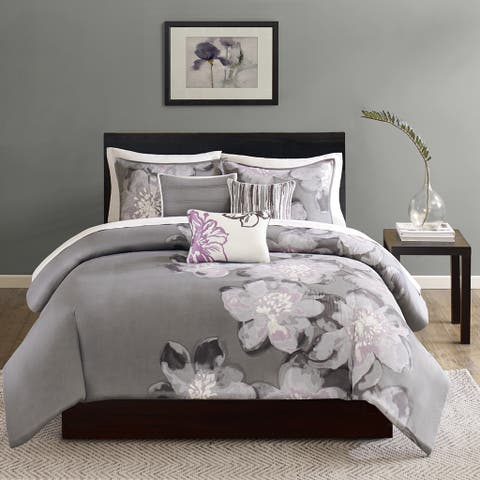 Copper Grove Burwell 6-piece Printed Cotton Duvet Cover set