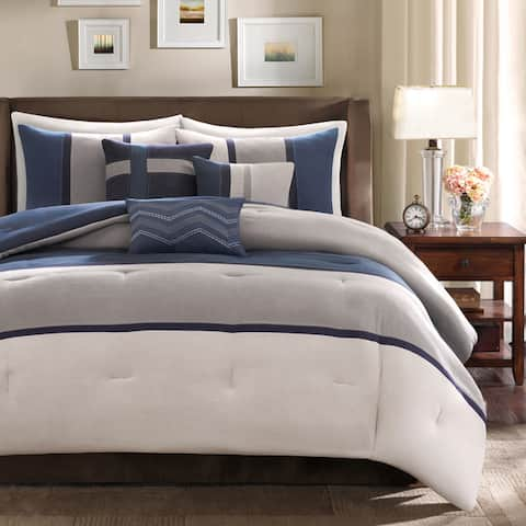 Madison Park Hanover 7-piece Comforter Set