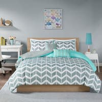 Intelligent Design Laila Chevron 5-piece Comforter Set