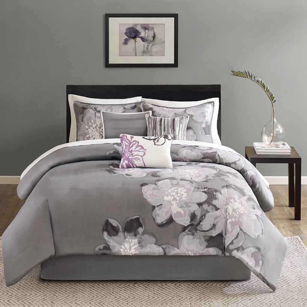 Madison Park Alicia Cotton 7-Piece Comforter Set