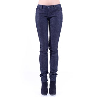 Stitch's Womens Dark Wash Soft Skinny Jeans