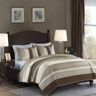 Madison Park Signature Carnes 3-Piece Coverlet Set