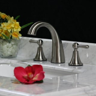 Brushed Nickel Widespread Faucet