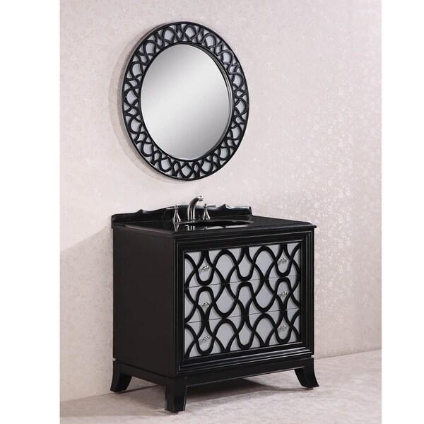 Shop Legion Furniture Absolute Black Granite Top 38 Inch