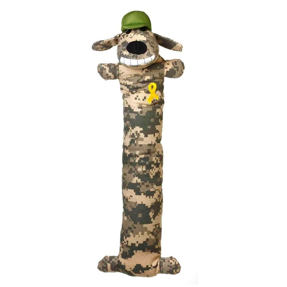 Multipet Support Our Troops Loofa Camo Dog Toy (18 inch L...