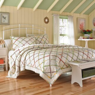 Laura Ashley Ruffled Garden Quilt (3 options available)