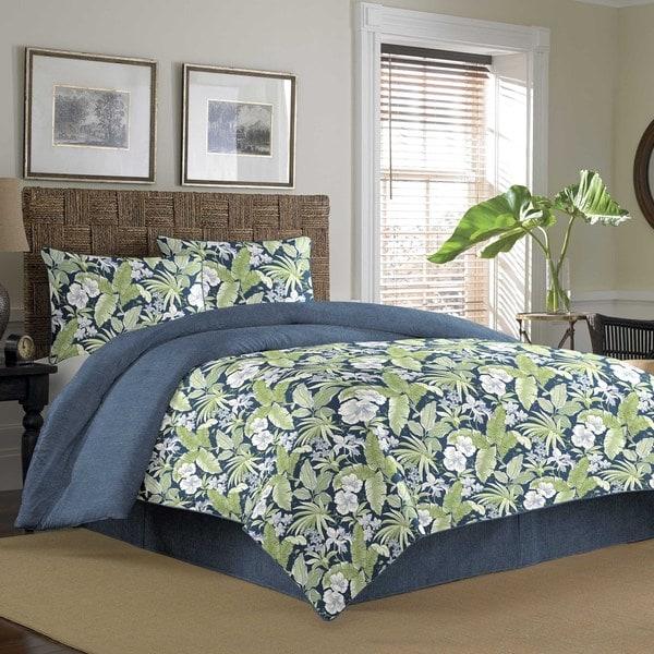 Tommy Bahama Key Largo Place Indigo 4-piece Comforter Set