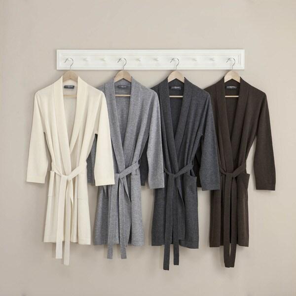 Metropolitan Home Cashmere Robe in a Gift Box