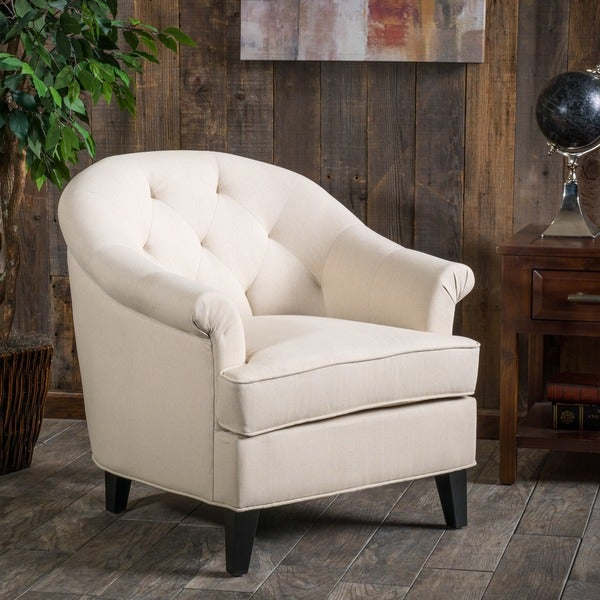 Silvan Fabric Club Chair by Christopher Knight Home