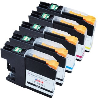 Sophia Global LC103XL Ink Cartridge Replacements for Brother Printers (2B, 1CMY)