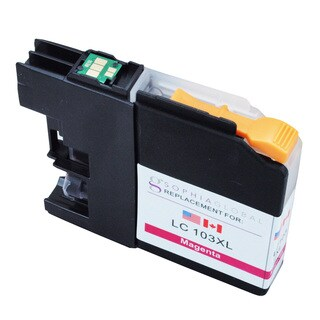Sophia Global LC103XL Magenta Ink Cartridge Replacement for Brother Printers