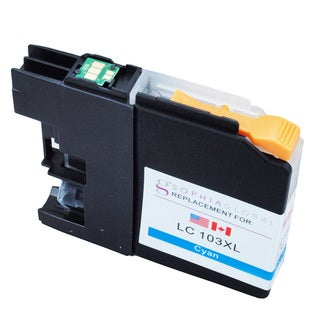 Sophia Global LC103XL Cyan Ink Cartridge Replacement for Brother Printers