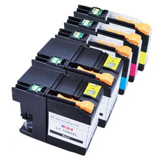 Sophia Global LC109XXL Black and LC105XL Color Ink Cartridge Replacements (2B, 1CMY)