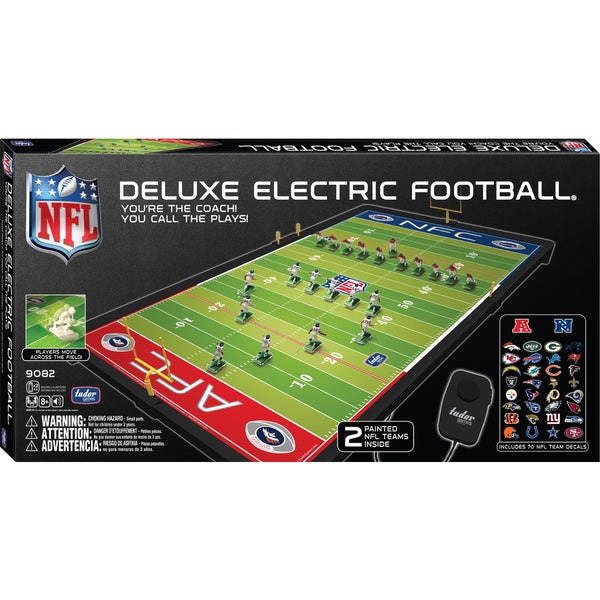 tudor games nfl deluxe electric football game free