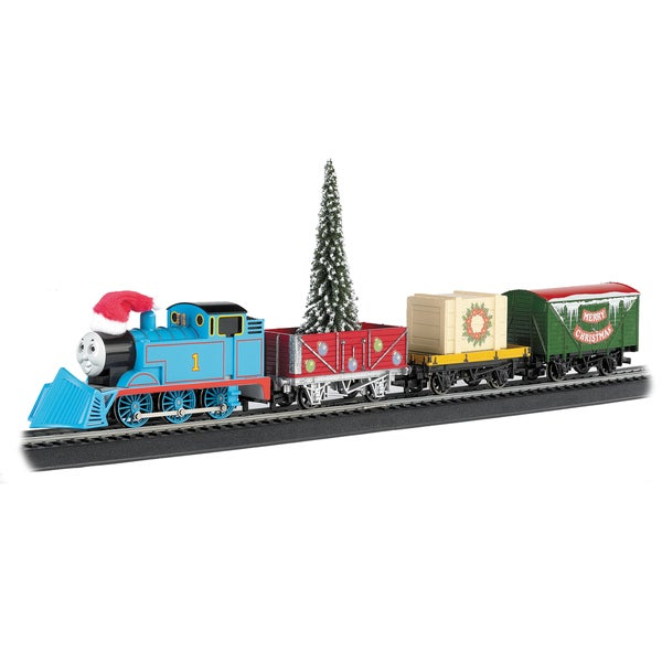 Thomas and friends bachmann ho scale coaches on electric train engine