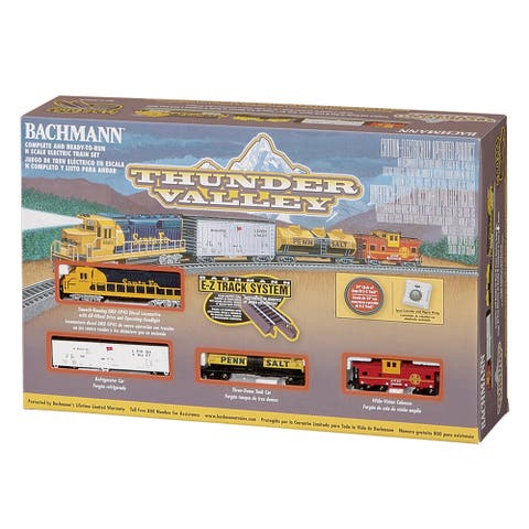 Bachmann Trains Thunder Valley N Scale Ready to Run Electric Train Set