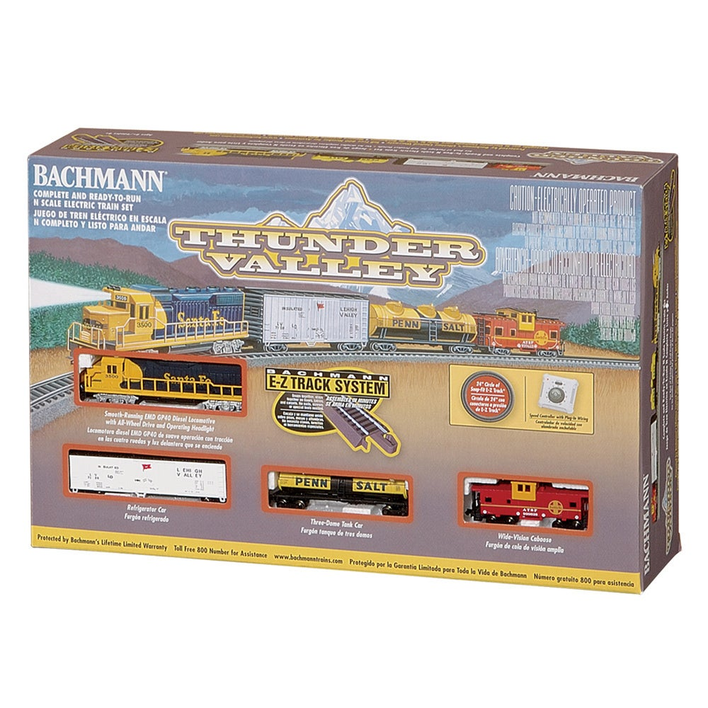 Bachmann Trains Thunder Valley N Scale Ready To Run Elect...