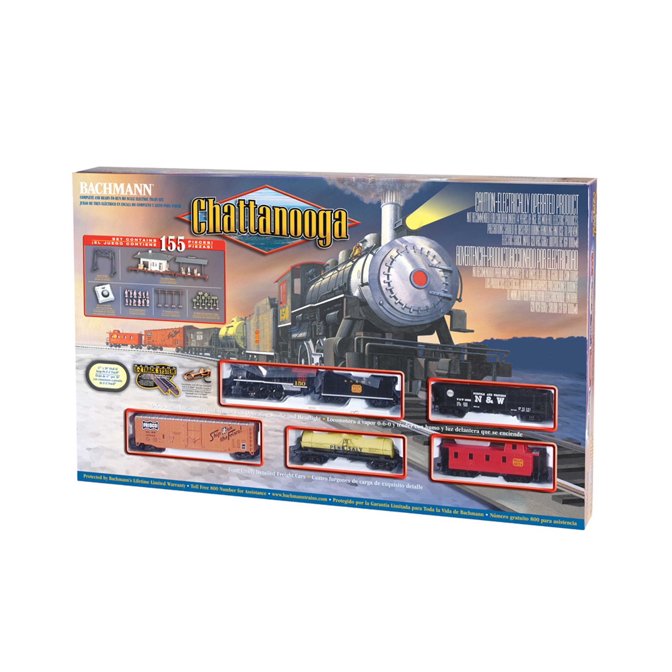 Bachmann Trains Chattanooga HO Scale Ready To Run Electri...