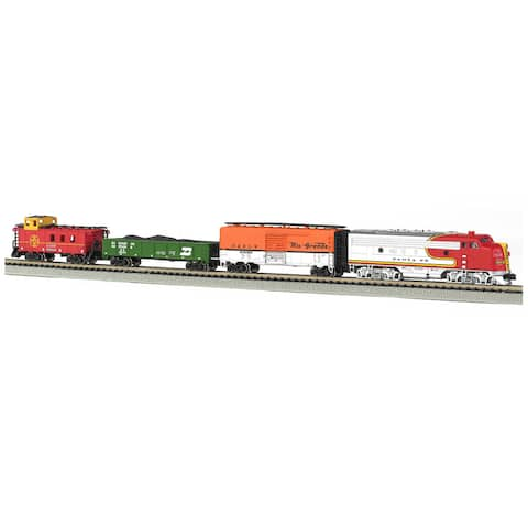Bachmann Trains Super Chief N Scale Ready To Run Electric Train Set - Orange/Red