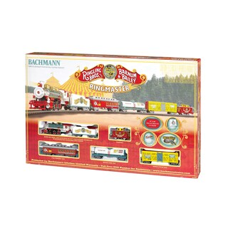 Bachmann Trains Ringling Bros. Ringmaster HO Scale Ready To Run Electric Train Set