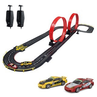 Artin 1:43 Scale Stunt Raceway Slot Car Racing Set